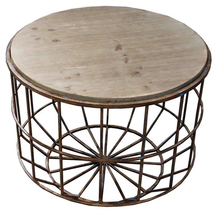Silverwood Leo Brown And Gray End Table   Products Intended For Gracewood Hollow Dones Traditional Cinnamon Round End Tables (View 4 of 25)