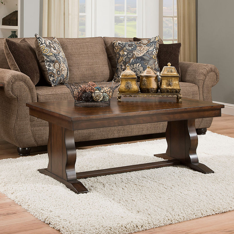 Simmons Casegoods Danville Coffee Table | Products | Coffee Within Jessa Rustic Country 54 Inch Coffee Tables (Image 22 of 25)