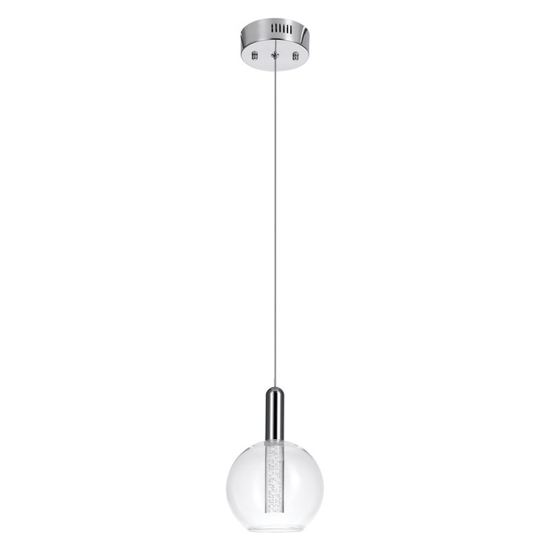 Sipos 1 Light Led Single Globe Pendant Pertaining To Oldbury 1 Light Single Cylinder Pendants (View 19 of 25)