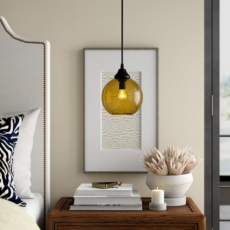 Solitaire Petite 1 Light Globe Pendant For 1 Light Globe Pendants (Image 19 of 25)