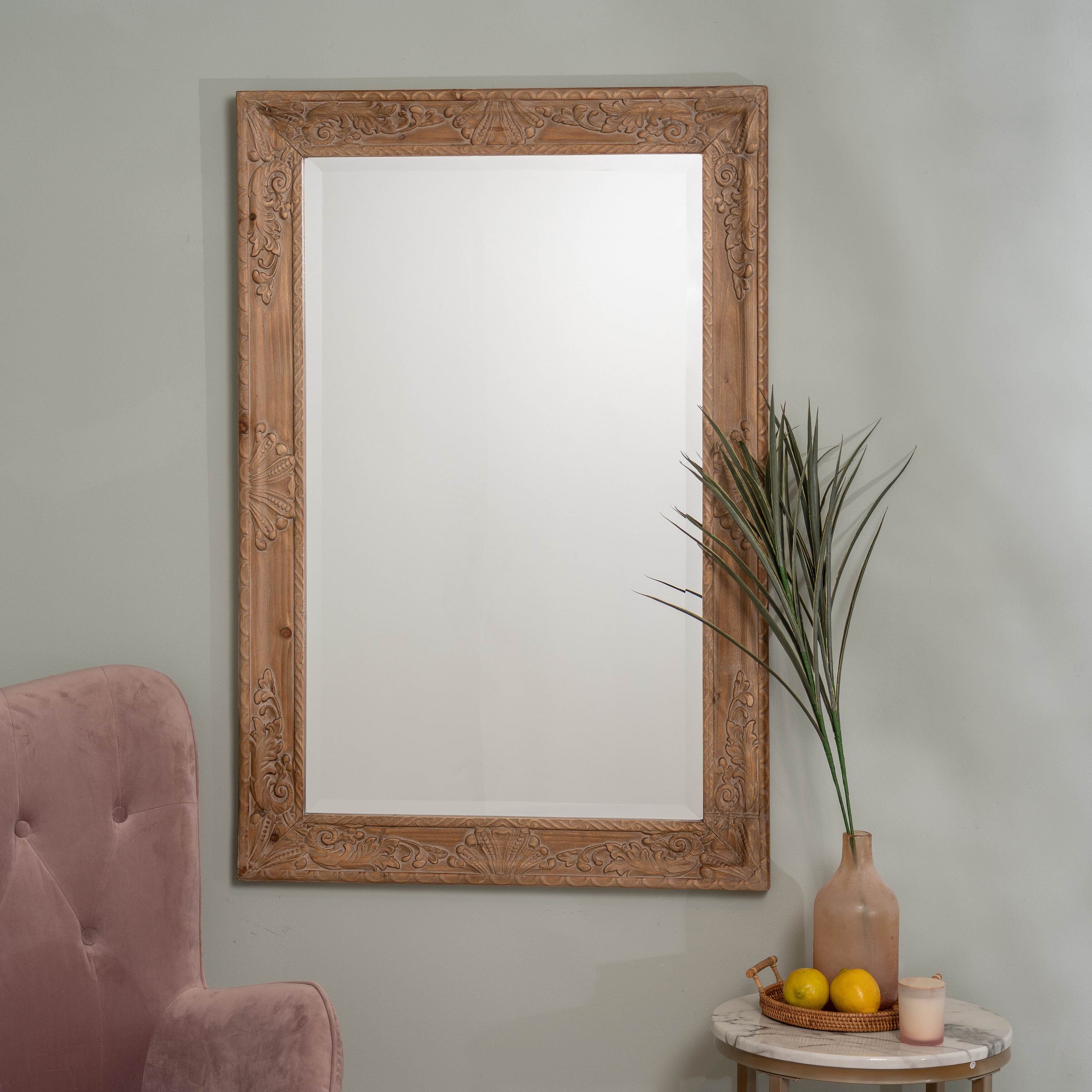 Soperton Modern Accent Mirror Regarding Willacoochee Traditional Beveled Accent Mirrors (Image 13 of 20)