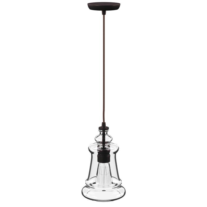 Sorensen 1 Light Single Bell Pendant In 1 Light Single Bell Pendants (Image 21 of 25)