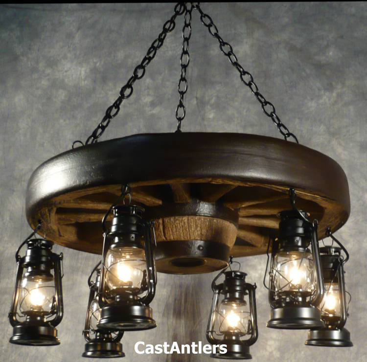 Spacious Wagon Wheel Chandelier In 30 Hanging Lantern In Shayla 12 Light Wagon Wheel Chandeliers (View 16 of 20)