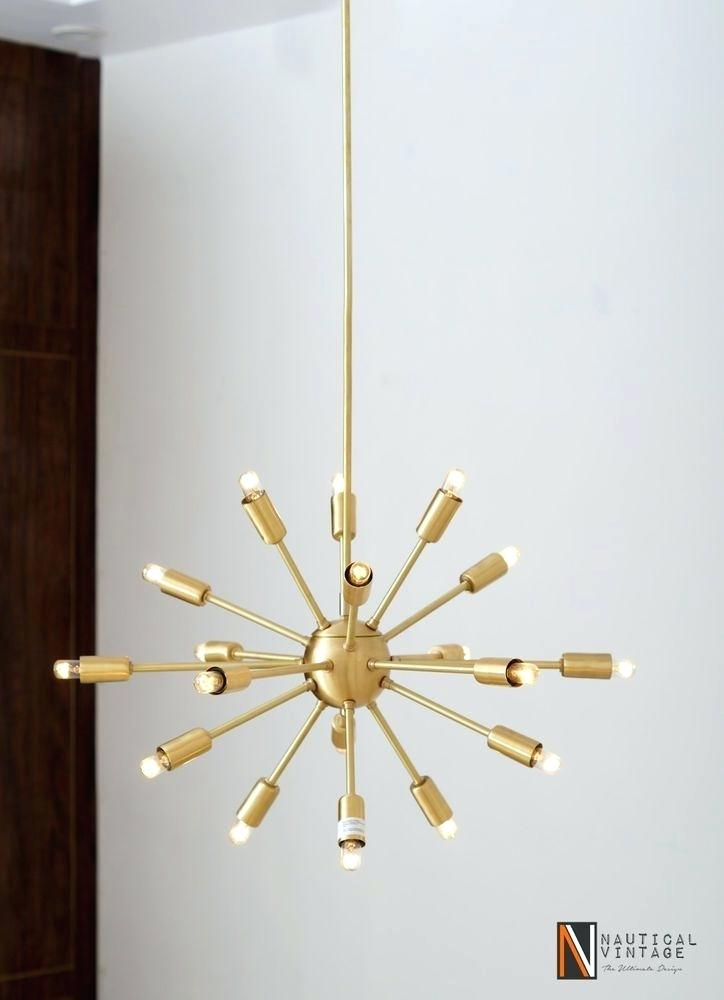 Sputnik 18 Light Chandelier Pertaining To Defreitas 18 Light Sputnik Chandeliers (Image 14 of 20)