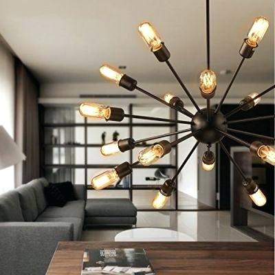Sputnik 18 Light Chandelier With Regard To Defreitas 18 Light Sputnik Chandeliers (Image 19 of 20)