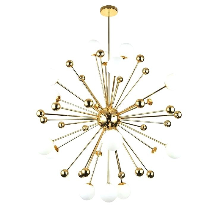 Sputnik 18 Light Chandelier With Regard To Defreitas 18 Light Sputnik Chandeliers (Image 18 of 20)