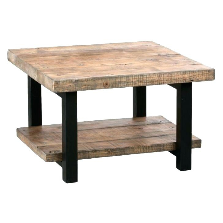 Square Coffee Table Unfinished Large – Themaverickway (View 16 of 25)