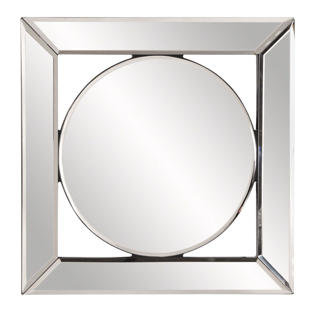 Square Hanging Accent Mirror | Products | Mirror In Maude Accent Mirrors (Image 13 of 20)
