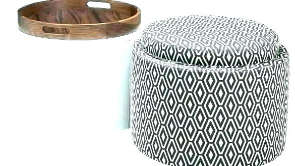 Square Ottoman With Storage – Vogueaholic (Image 15 of 25)