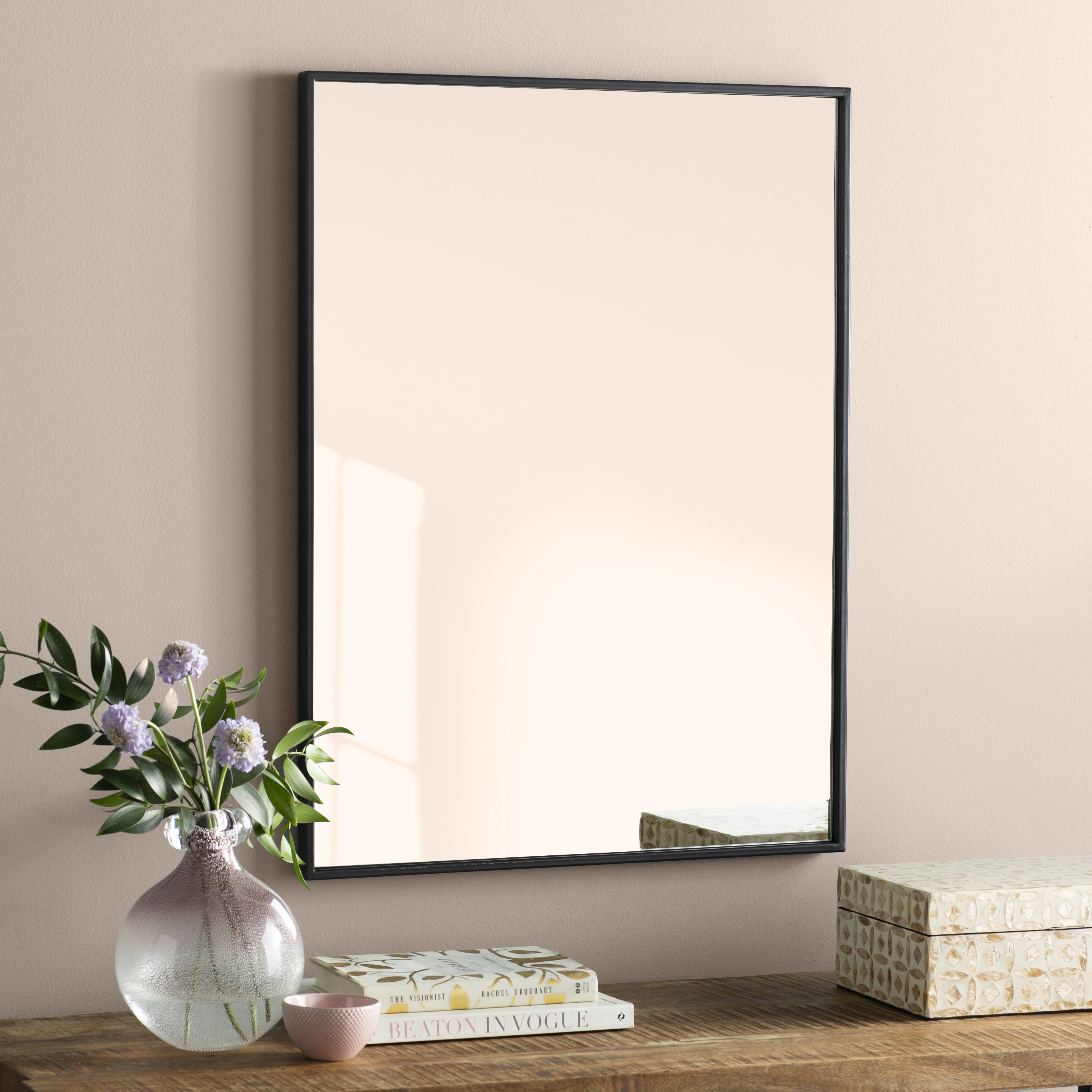 Square Wall & Accent Mirrors | Joss & Main With Regard To 2 Piece Priscilla Square Traditional Beveled Distressed Accent Mirror Sets (Image 17 of 20)