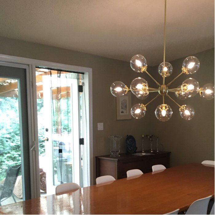 Staggered Glass Chandelier 8 Light – Artofit Regarding Asher 12 Light Sputnik Chandeliers (View 17 of 20)