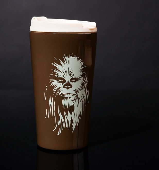 Star Wars Stainless Steel Chewbacca Travel Mug Inside Jayce 1 Light Cylinder Pendants (Image 23 of 25)