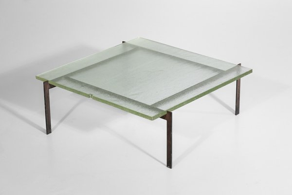 Steel Glass Coffee Table Pertaining To Carbon Loft Heimlich Metal Glass Rectangle Coffee Tables (View 21 of 25)