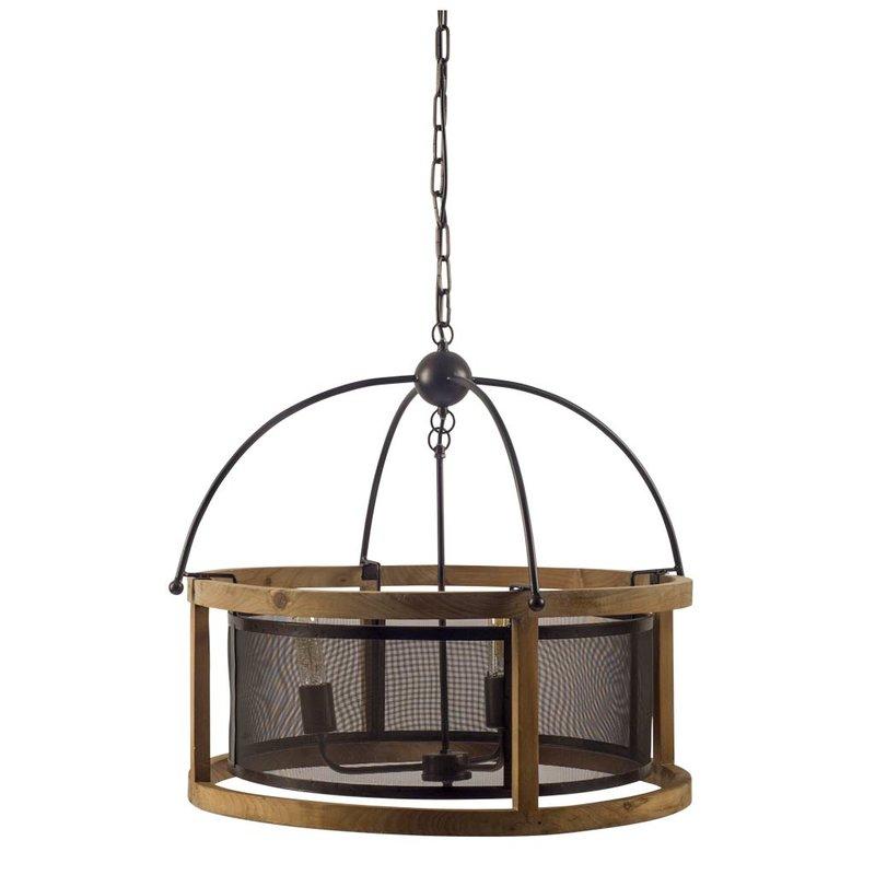 Stidham 3 Light Lantern Drum Pendant In Leiters 3 Light Lantern Geometric Pendants (View 17 of 20)