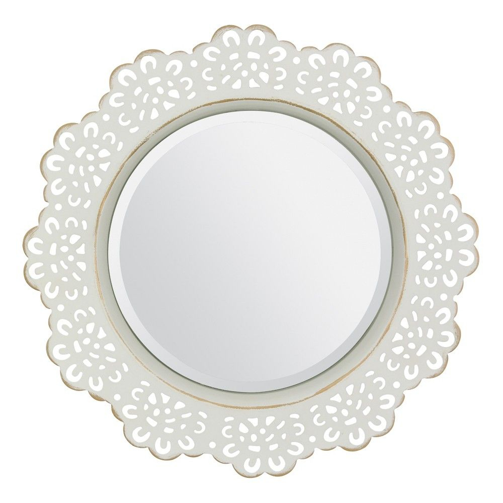 Stonebriar's Decorative Metal Lace Wall Mirror Is The Throughout Traditional Metal Wall Mirrors (Image 10 of 20)
