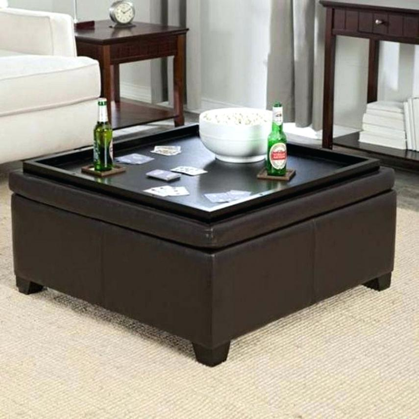 Storage Coffee Tables Ottomans – Facebookvideo With Lennon Pine Square Storage Ottoman Coffee Tables (Image 21 of 25)