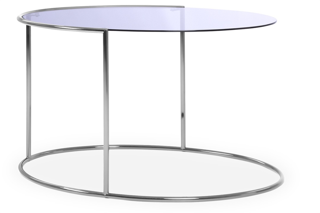 Strata Coffee Table – Coffee & Side Tables – The Sofa Intended For Strata Chrome Glass Coffee Tables (View 6 of 25)
