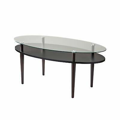 Strick & Bolton Tanner Espresso End Table With Shelf Within Strick & Bolton Florence Chrome Coffee Tables (Image 19 of 25)