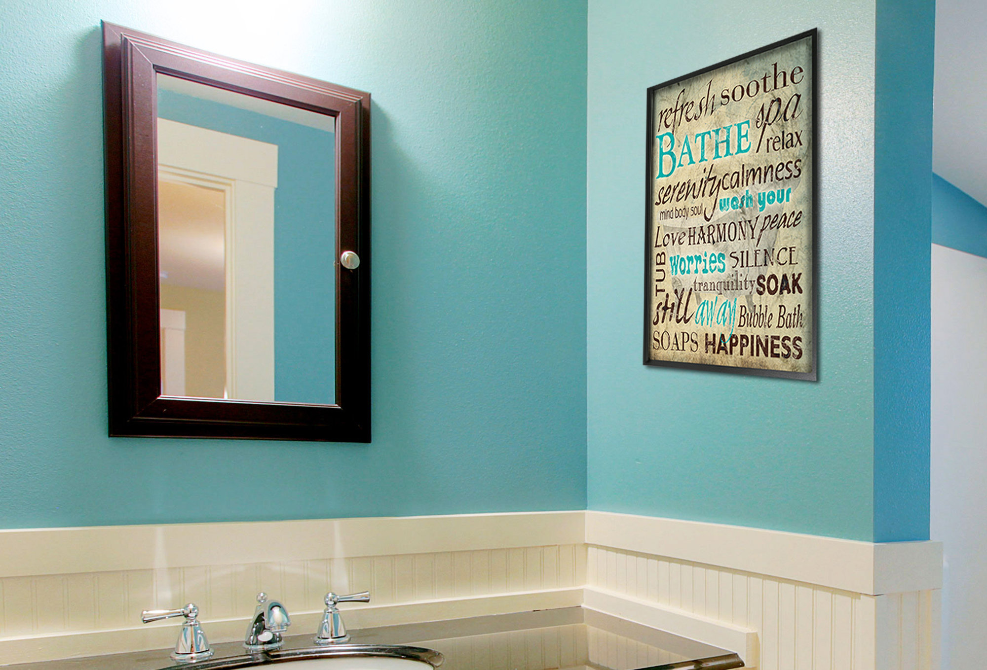 Stupell Home Decor Collection | Kitchen With Northend Wall Mirrors (View 19 of 20)