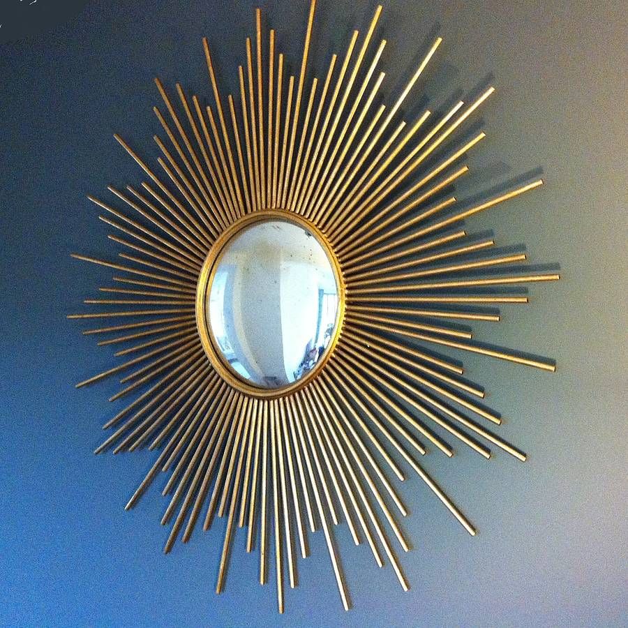 Featured Image of Sun Shaped Wall Mirrors