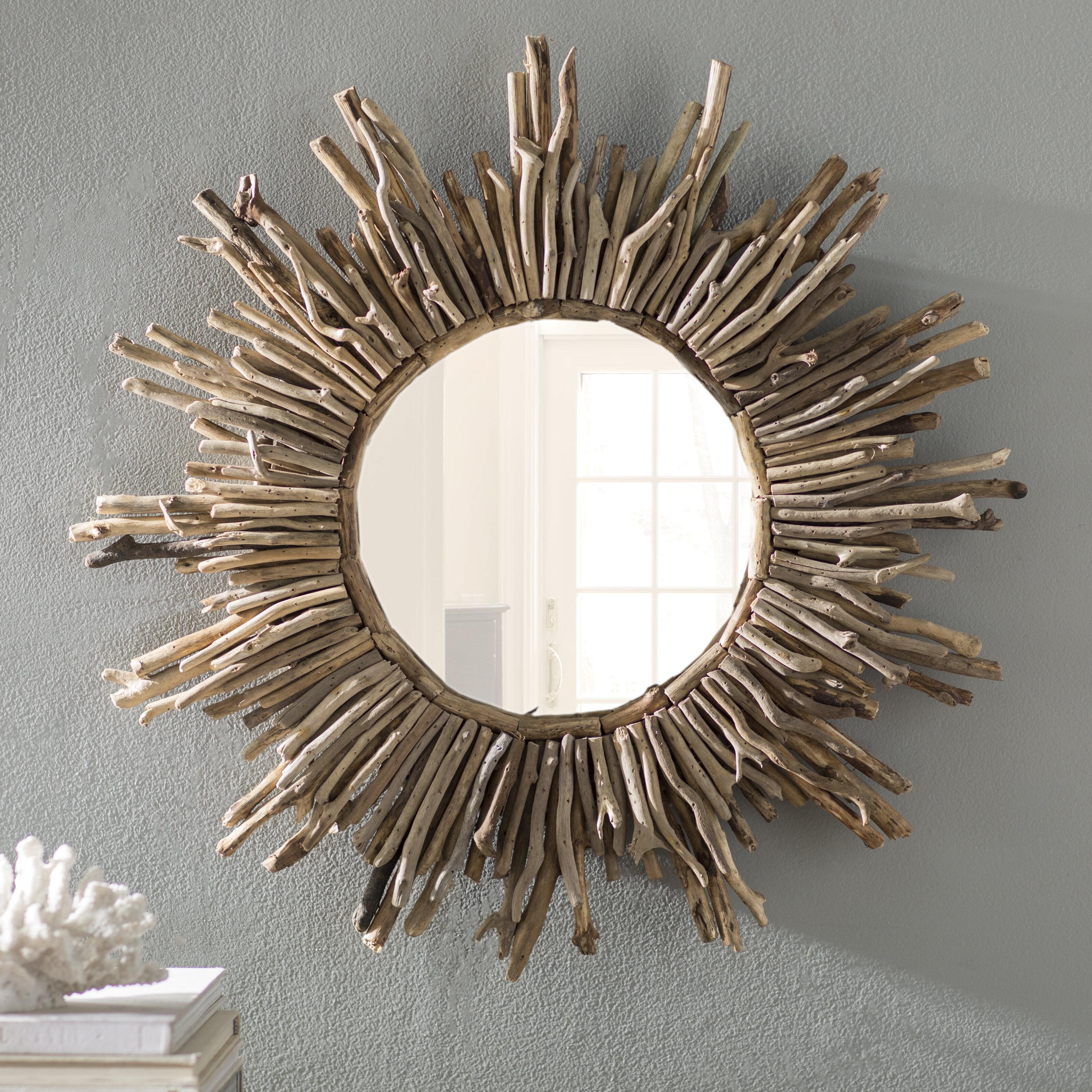 Sunburst Traditional Accent Mirror For Birksgate Sunburst Accent Mirrors (View 5 of 20)