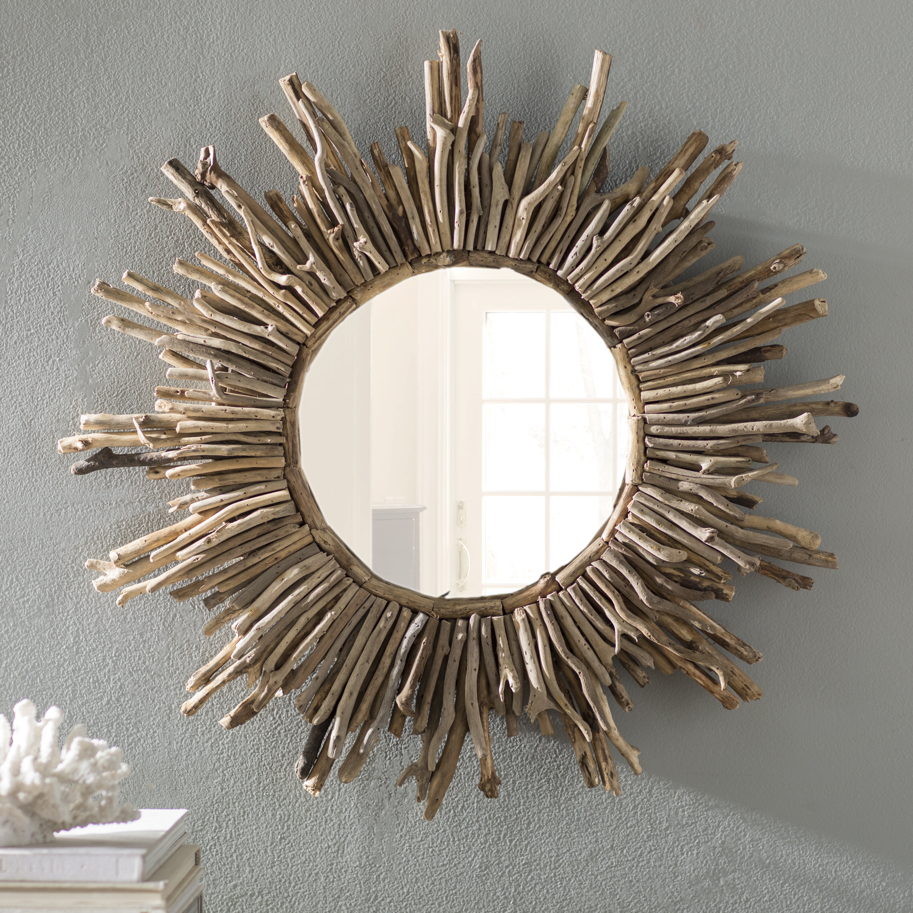 Sunburst Traditional Accent Mirror In Traditional Accent Mirrors (View 2 of 20)