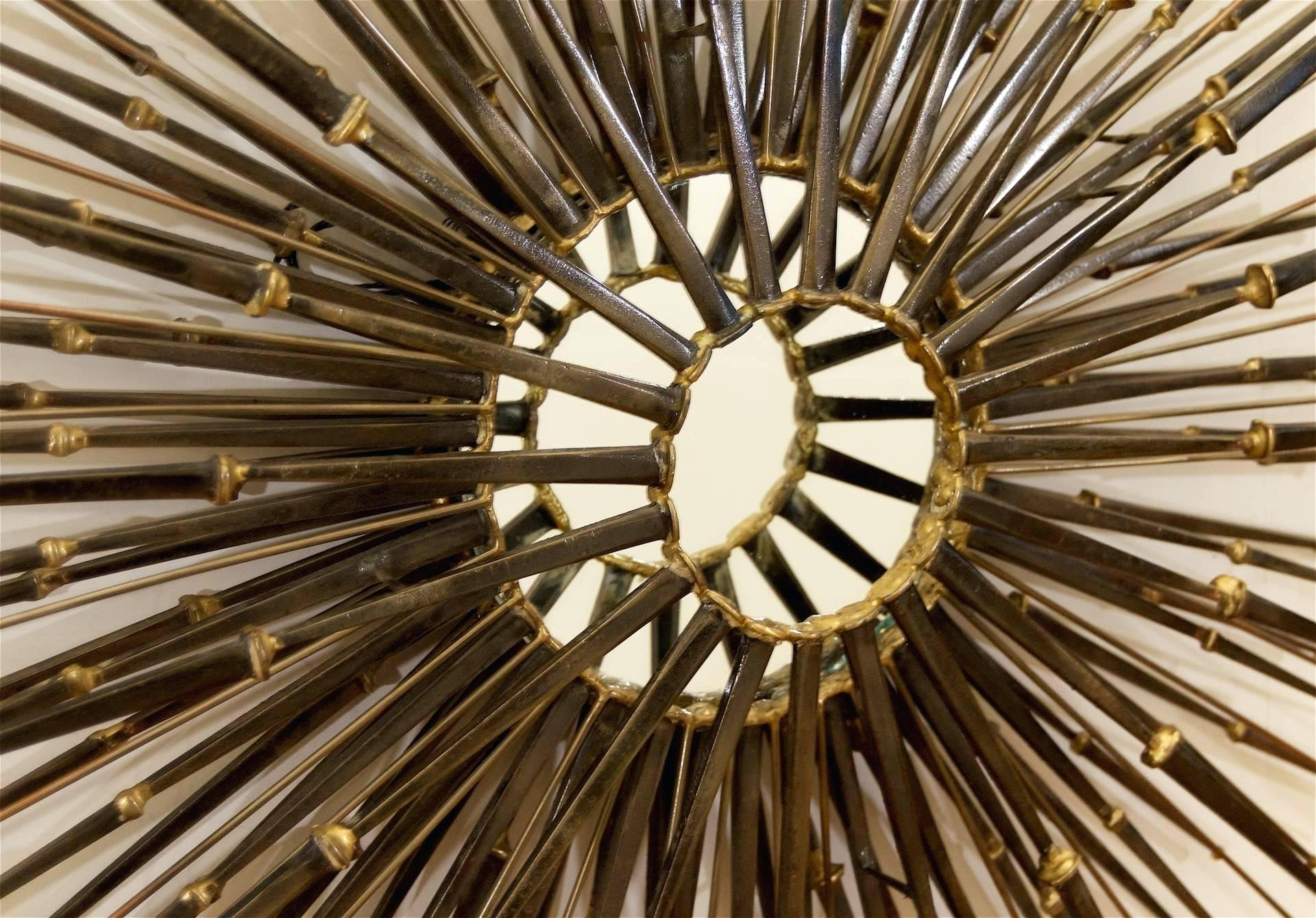 Sunburst Wall Mirror – Readyforwork (Image 14 of 20)