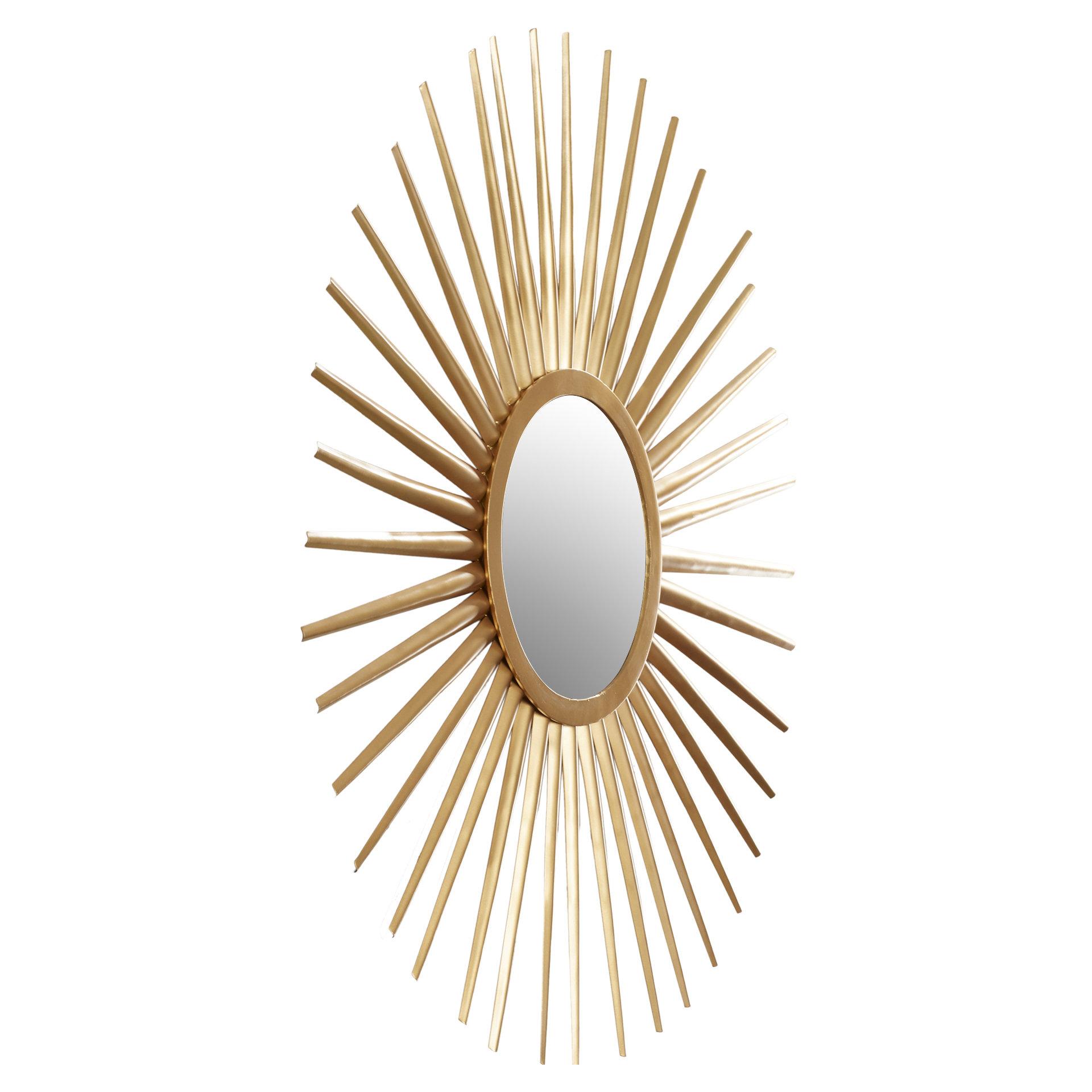 Sunburst Wall Mirror Within Birksgate Sunburst Accent Mirrors (View 12 of 20)