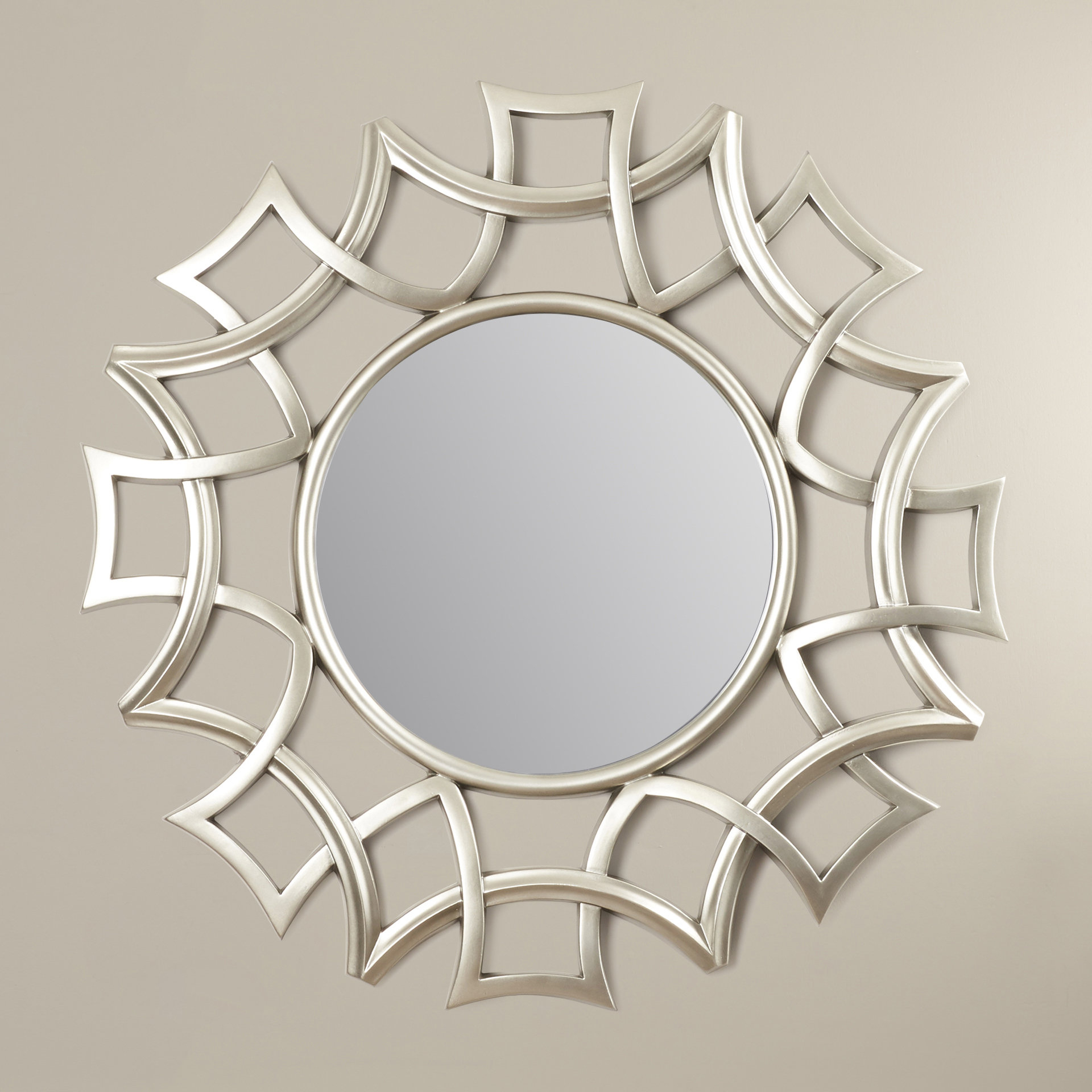 Sunburst Wall Mirrors You'll Love In 2019 | Wayfair Intended For Brylee Traditional Sunburst Mirrors (View 3 of 20)