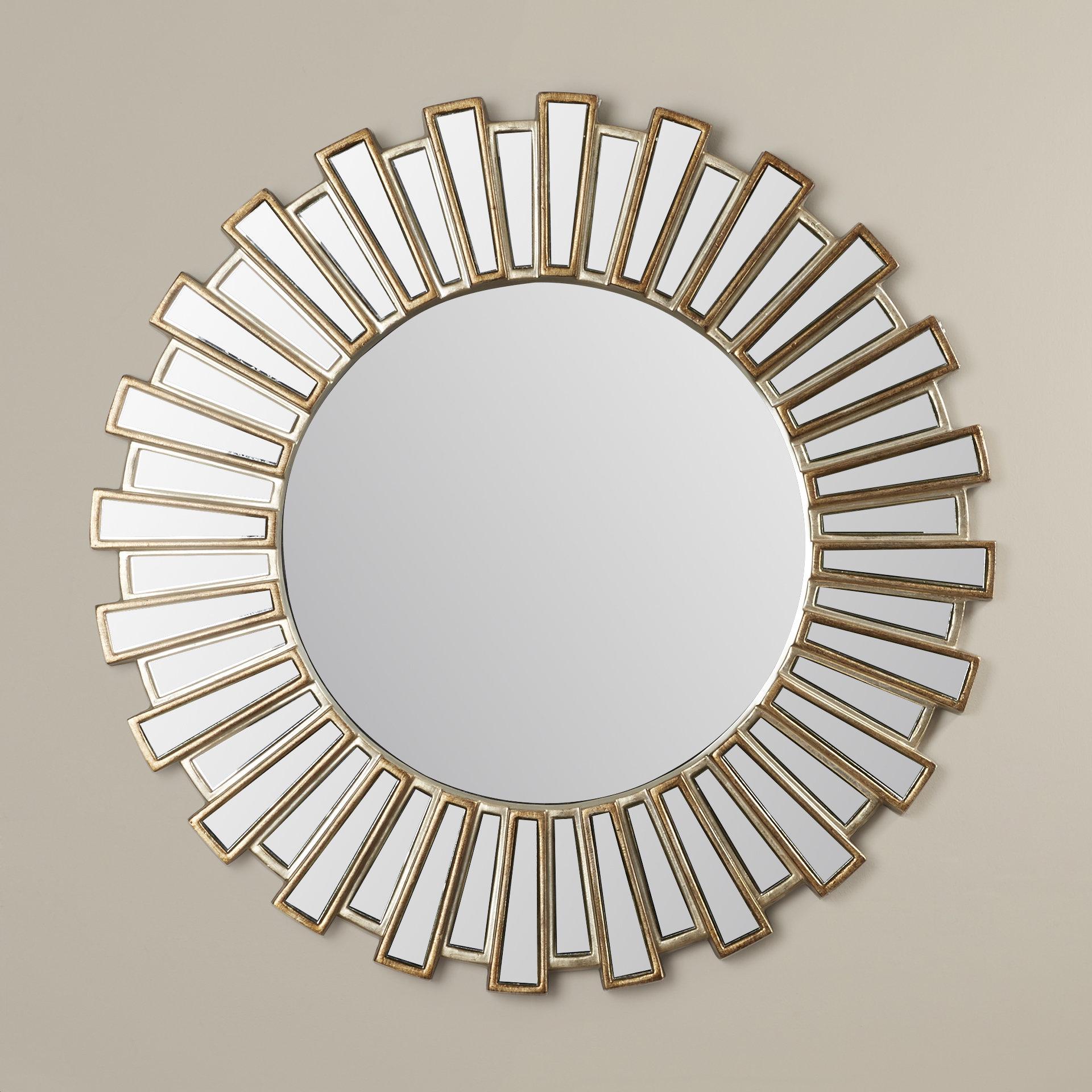 Sunburst Wall Mirrors You'll Love In 2019 | Wayfair Pertaining To Jarrod Sunburst Accent Mirrors (Image 18 of 20)