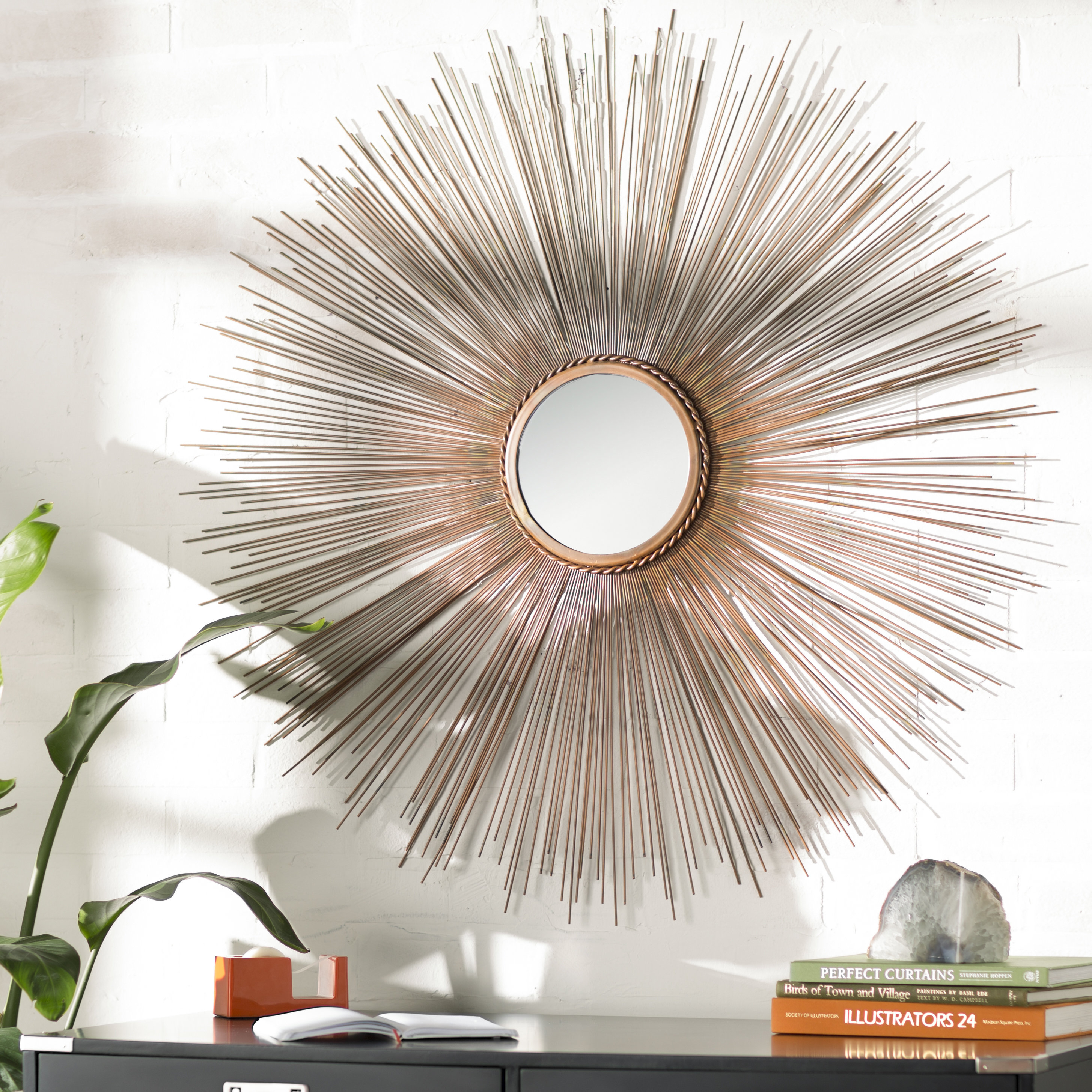Sunburst Wall Mirrors You'll Love In 2019 | Wayfair Regarding Bruckdale Decorative Flower Accent Mirrors (View 15 of 20)
