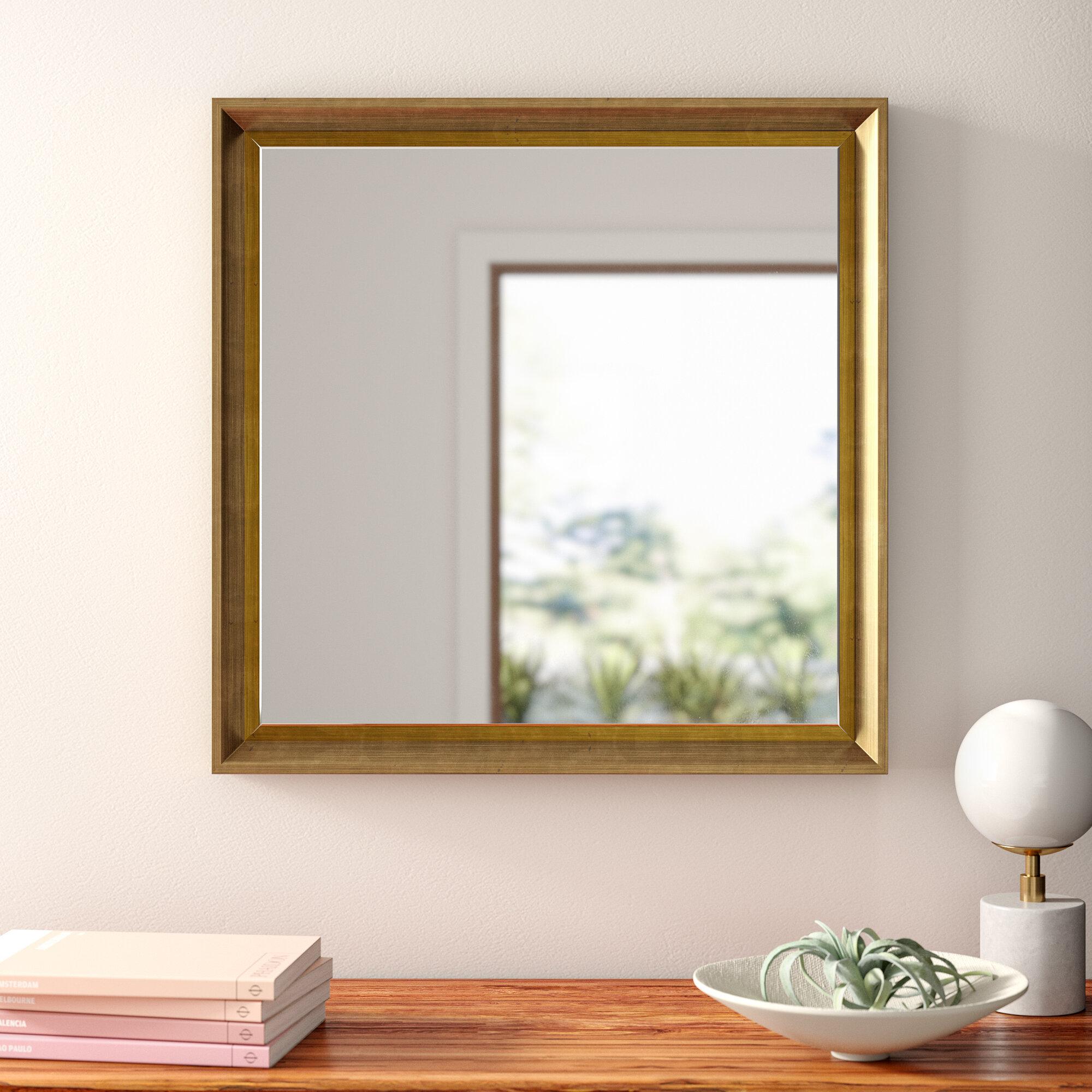 Sundown Framed Glam Beveled Accent Mirror In Shildon Beveled Accent Mirrors (View 6 of 20)