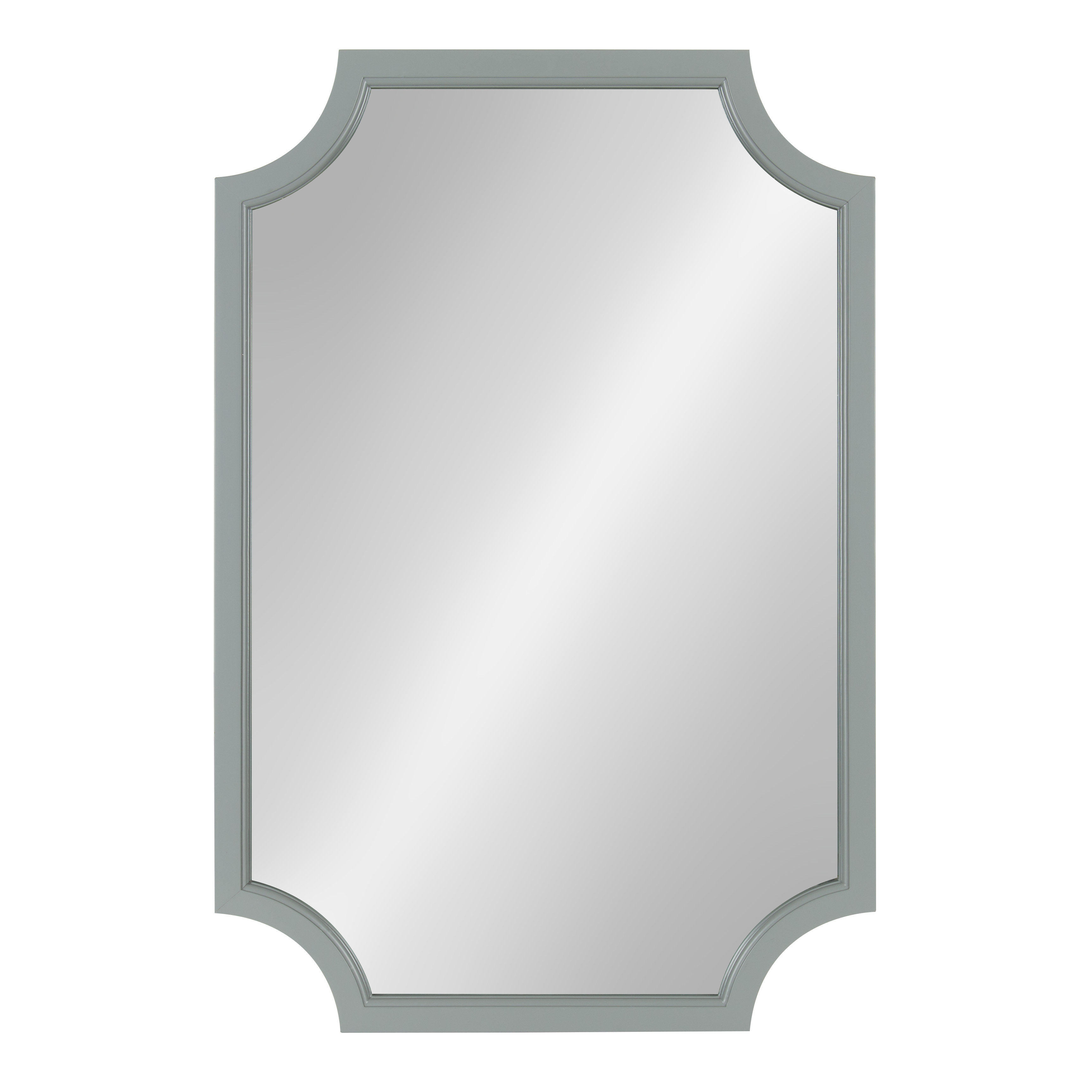 Surbit Wood Framed Accent Mirror Intended For Egor Accent Mirrors (Image 17 of 20)