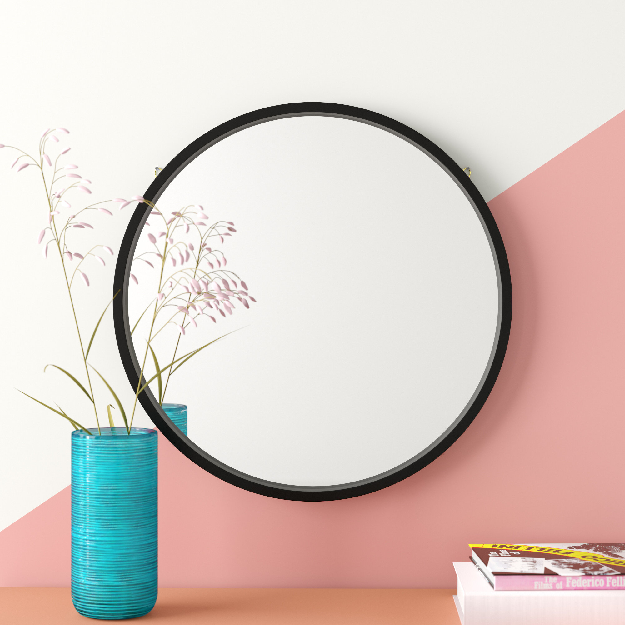 Swagger Accent Wall Mirror & Reviews | Joss & Main Inside Rhein Accent Mirrors (View 15 of 20)