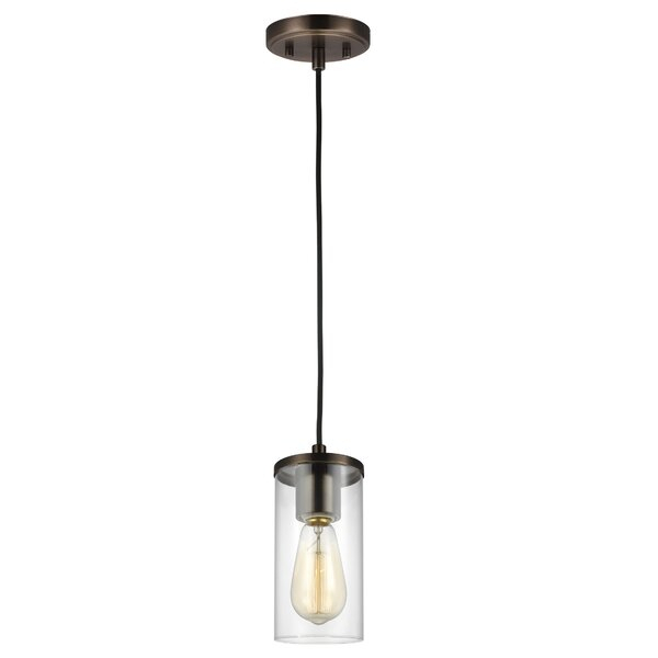 Tallapoosa 1 Light Single Cylinder Pendant Throughout Jayce 1 Light Cylinder Pendants (Image 25 of 25)