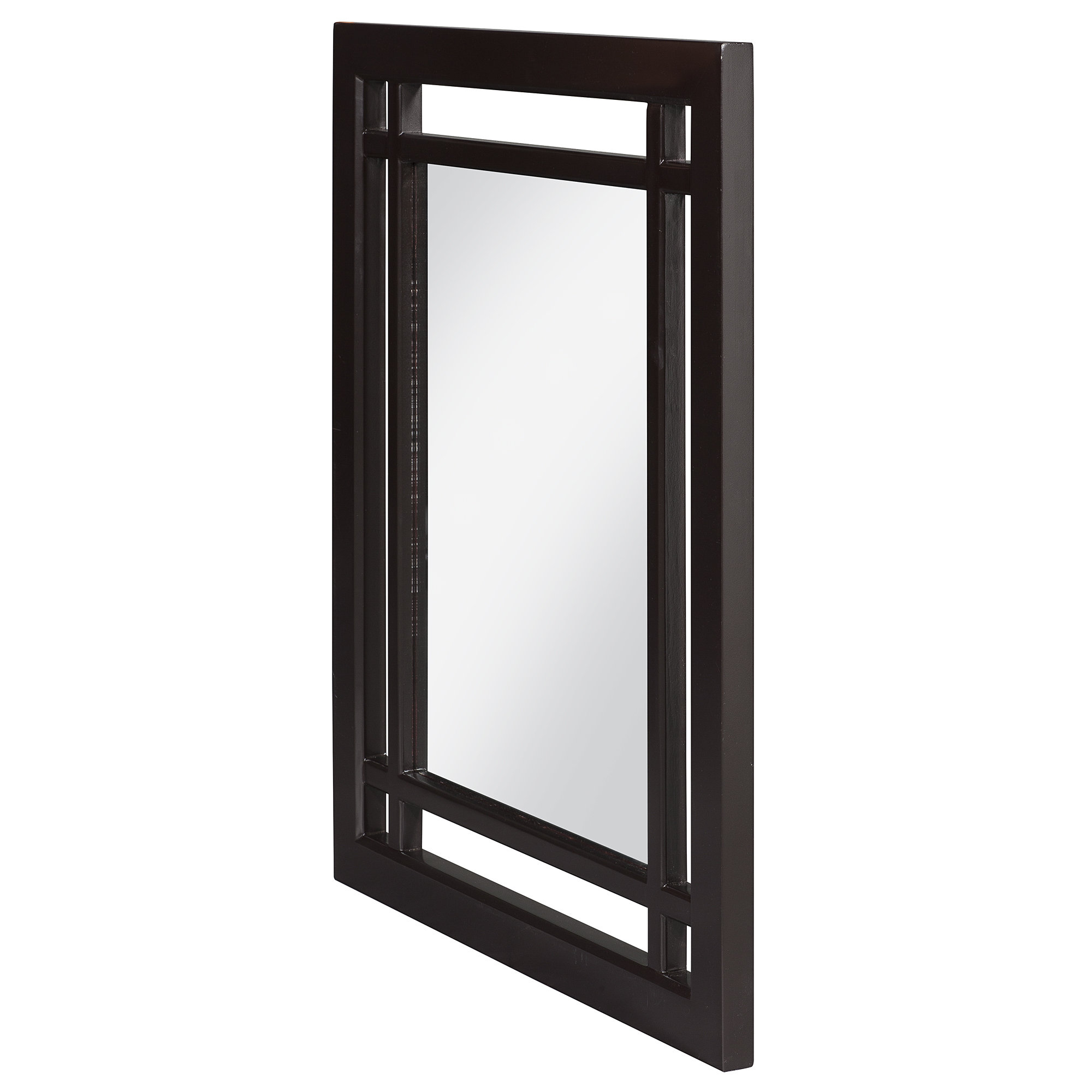 Taryn Rectangular Wall Mirror With Rectangle Plastic Beveled Wall Mirrors (View 4 of 20)