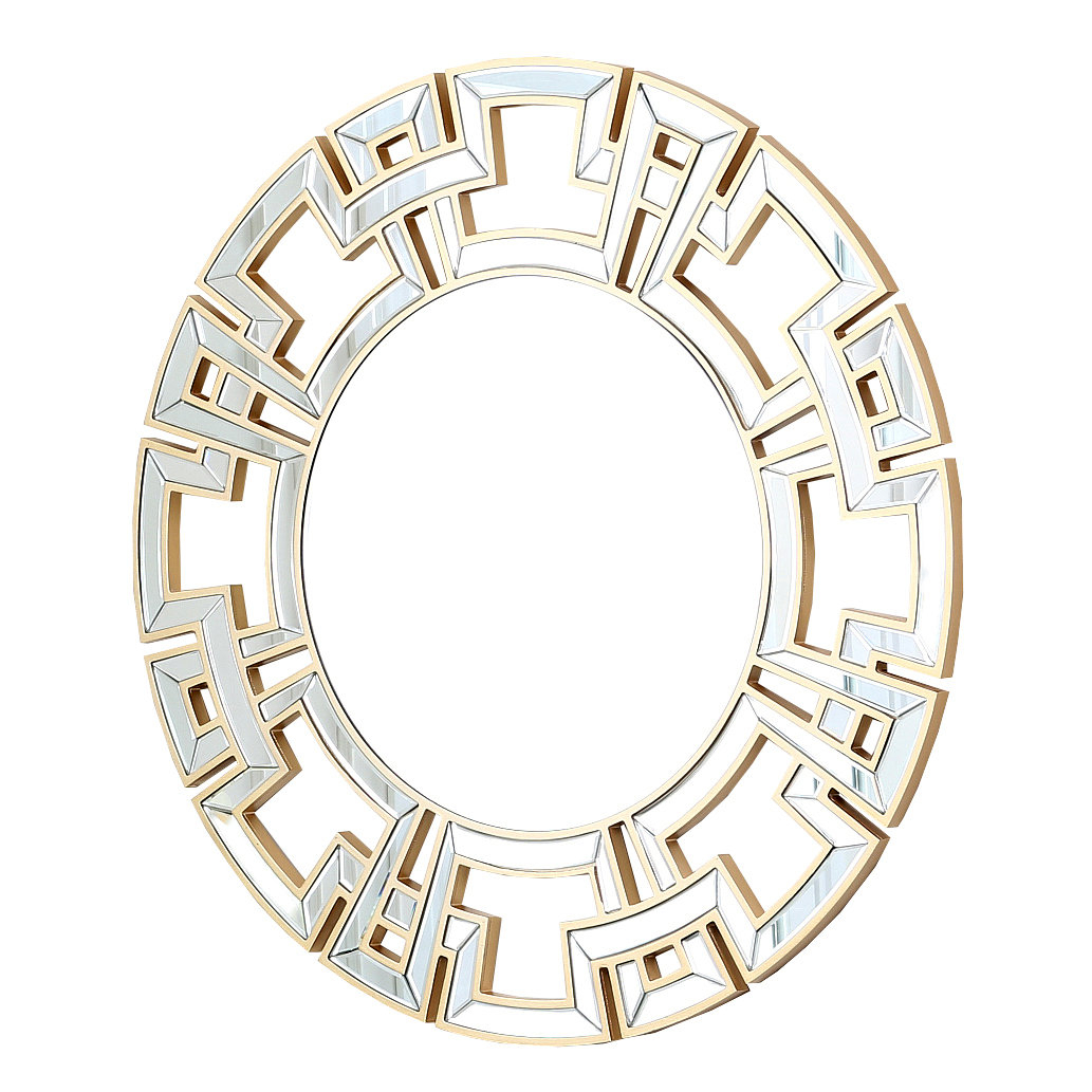 Tata Openwork Round Wall Mirror In Tata Openwork Round Wall Mirrors (Image 13 of 20)
