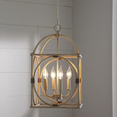 Taya 4 Light Lantern Pendant | (View 6 of 20)