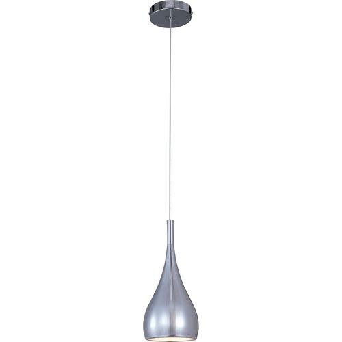 Teardrop Polished Chrome One Light Mini Pendant | Products Regarding Van Horne 3 Light Single Teardrop Pendants (View 23 of 25)