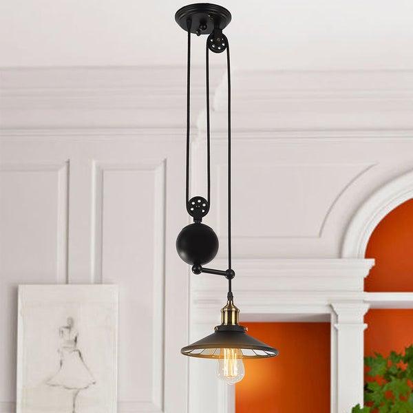 Tehno 1 Light Black Pendant Edison Bulb Included Inside Vintage Edison 1 Light Bowl Pendants (View 18 of 25)