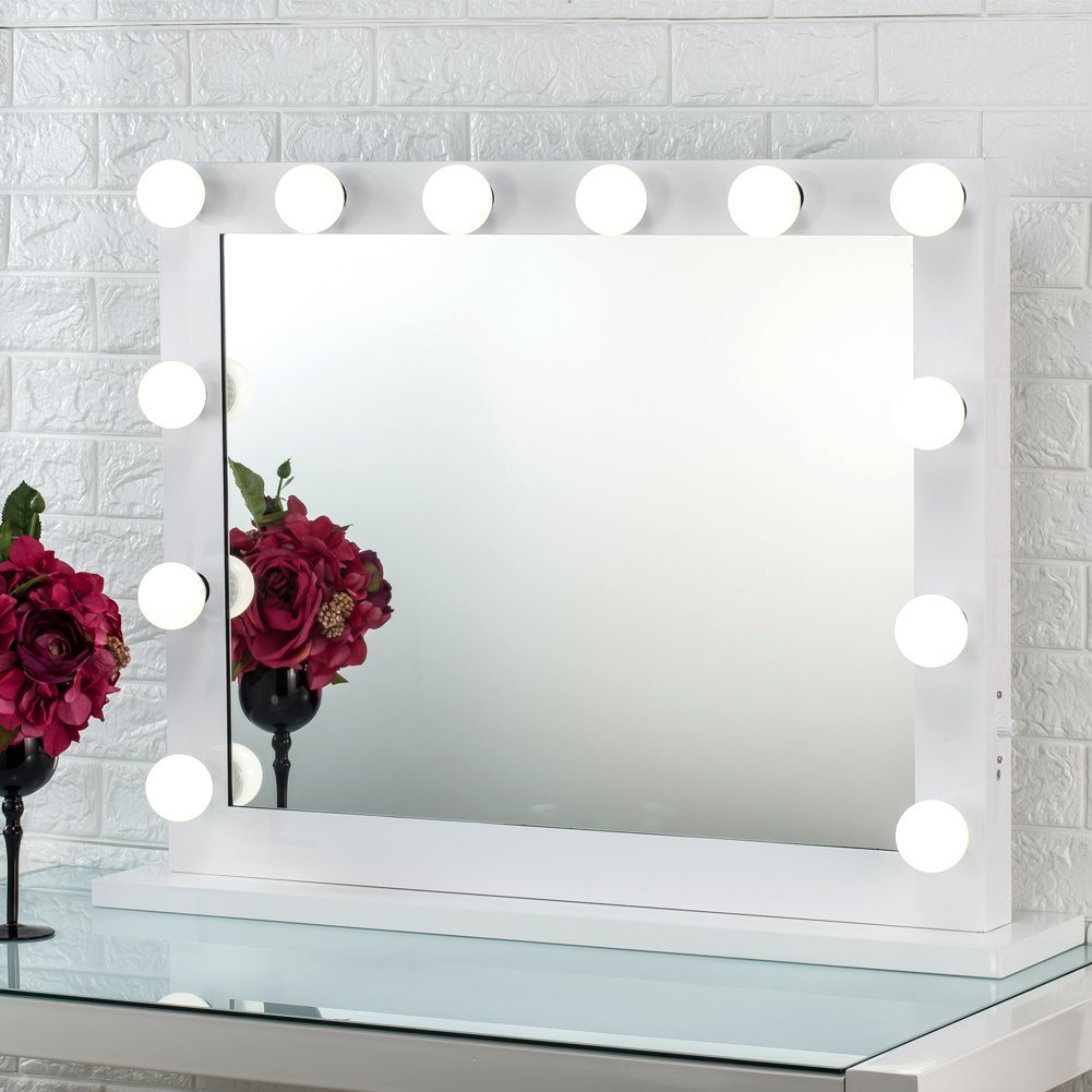 The 7 Best Lighted Makeup Mirrors You Can Get On Amazon For 2019 Pertaining To Vanity Mirrors (View 9 of 20)