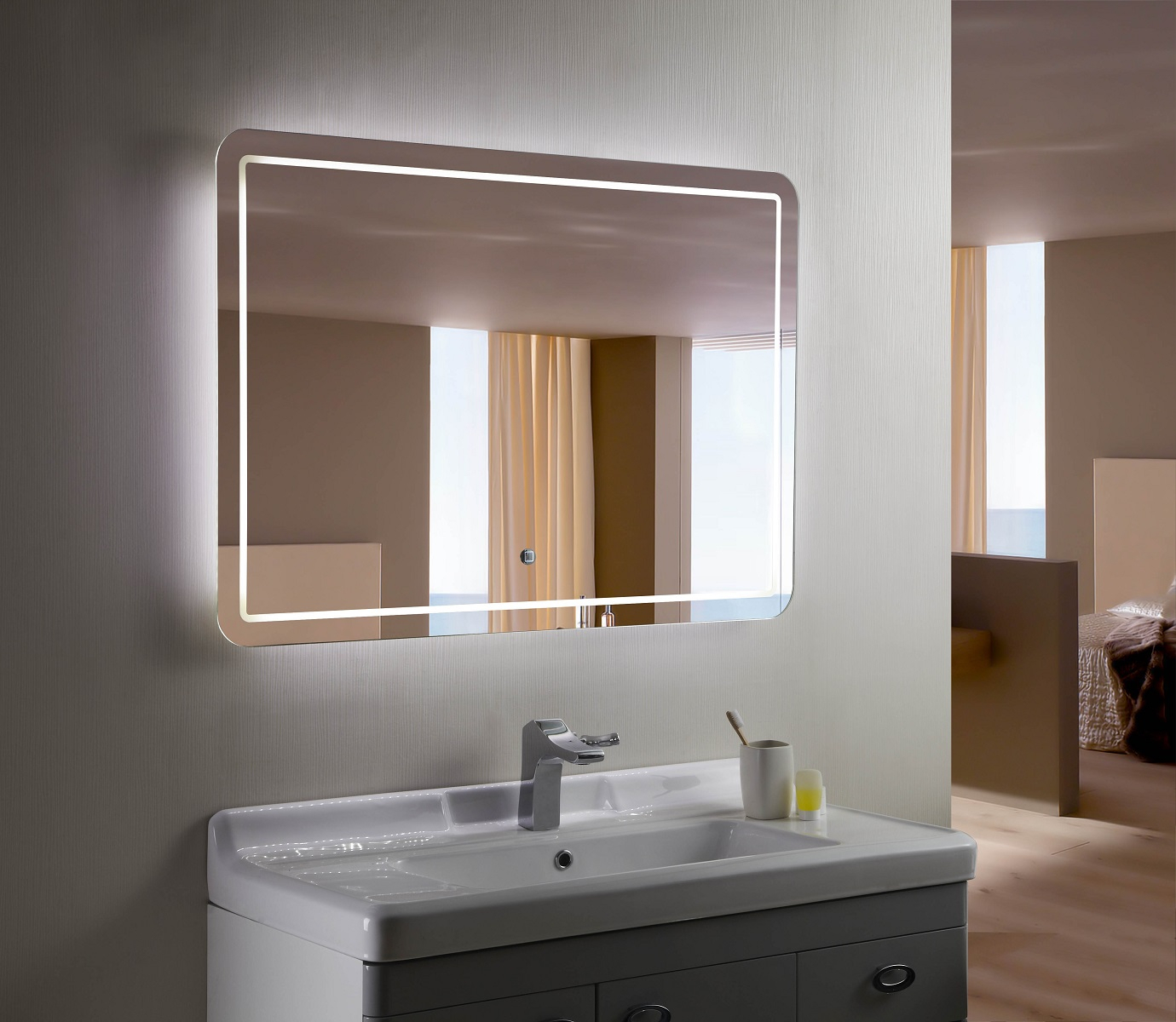 The Best Double Vanity Mirrors – Our Guide To The Perfect Within Vanity Mirrors (View 15 of 20)