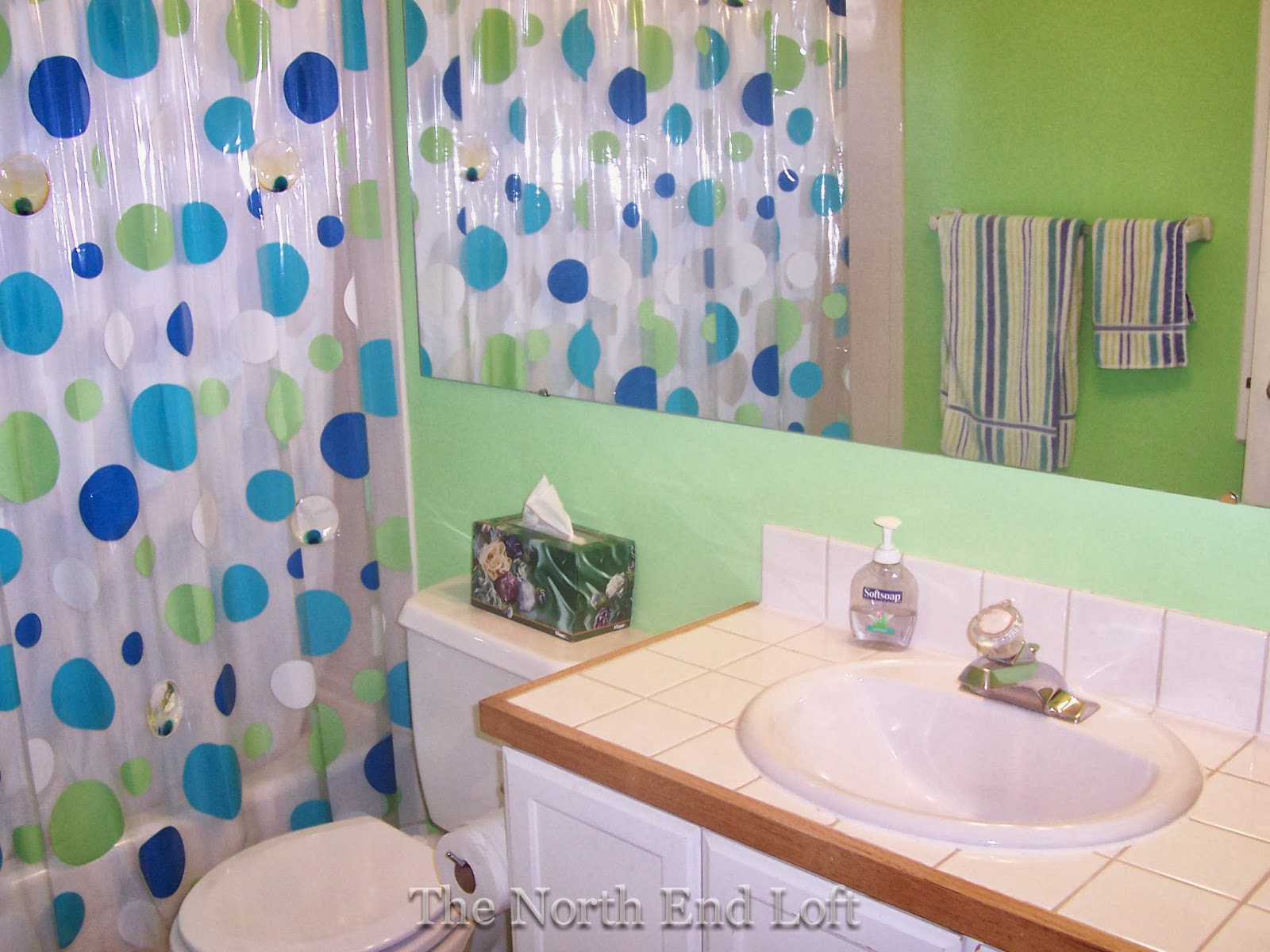 The North End Loft: $150 Guest Bathroom Makeover With Northend Wall Mirrors (View 20 of 20)