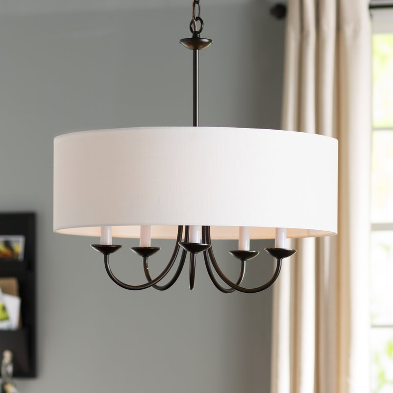 The Popularity Of Drum Chandelier | Fibi Ltd Home Ideas For Abel 5 Light Drum Chandeliers (Image 16 of 20)