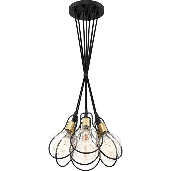 Thermopolis 7 Light Cluster Pendantwrought Studio In Wentzville 1 Light Single Bell Pendants (Image 13 of 25)