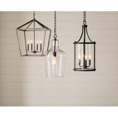 Three Posts Varnum 4 Light Lantern Pendant | Products Throughout Varnum 4 Light Lantern Pendants (Image 9 of 20)