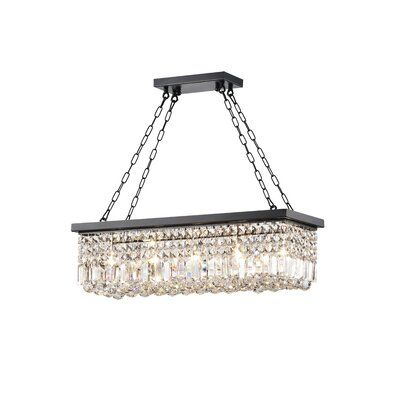 Three Posts Verdell 5 Light Crystal Chandelier | Reno For Verdell 5 Light Crystal Chandeliers (Image 17 of 20)