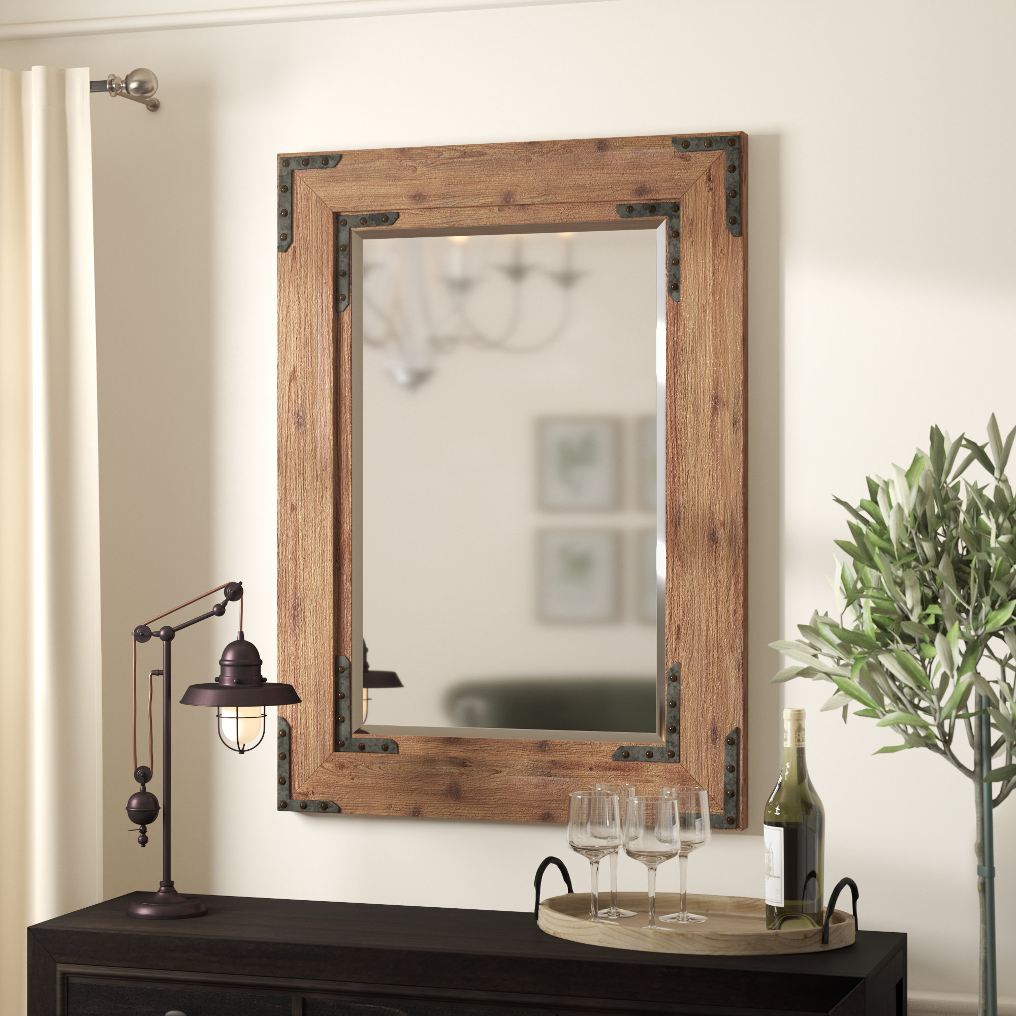 Featured Image of Tifton Traditional Beveled Accent Mirrors