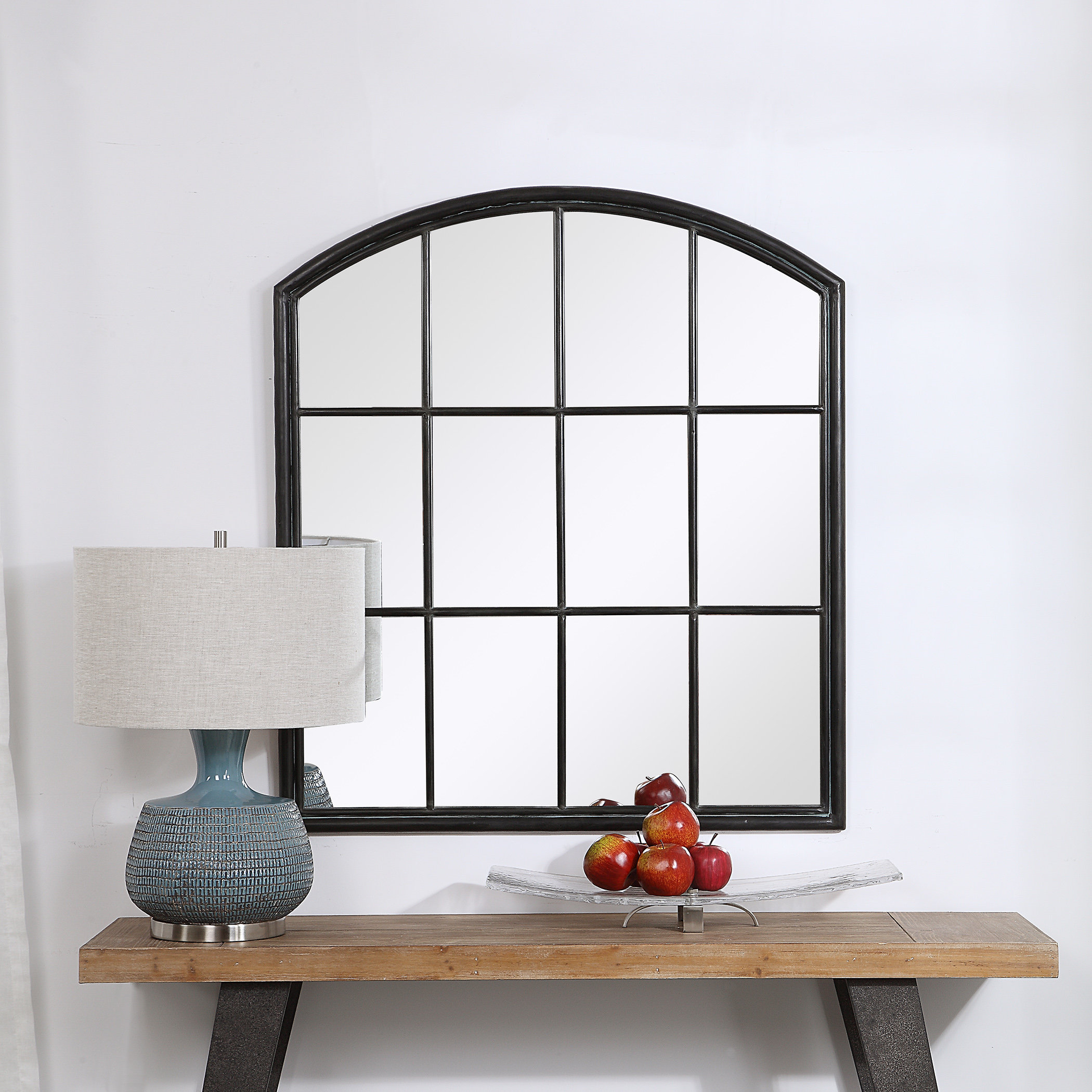 Tindell Arch Accent Mirror For Yatendra Cottage/country Beveled Accent Mirrors (View 12 of 20)