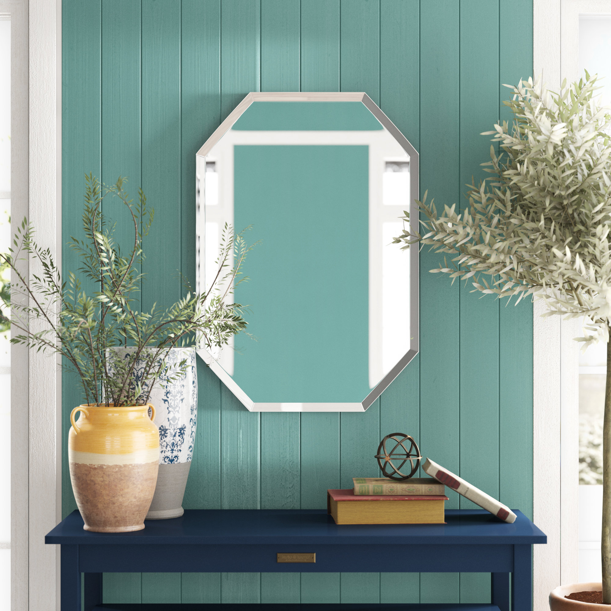 Top 10 Vanity Mirrors Under $200 | Wayfair Pertaining To Burgoyne Vanity Mirrors (View 18 of 20)